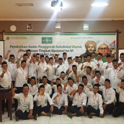 Pendidikan Kader Penggerak Nahdlatul Ulama (PKPNU) Segmen Perguruan Tinggi UNISNU Jepara
