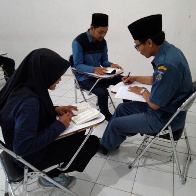 Imtihan / Ujian Ta'lim Al – Qur'an / Btq (Yanbu'a) Bagi Mahasiswa Baru Fakultas Sains Dan Teknologi (Saintek) Unisnu Jepara Tahun Ajaran 2019/2020