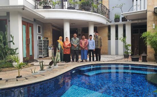 Tim UPT PSA Berkunjung dan Bersilaturahmi kepada Prof. Dr. Imam Taufiq, M.Ag. Pengasuh PP Darul Falah Be-Songo Semarang (3/3/21)