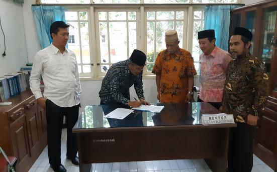 Kerjasama lembaga dengan UNHASY Jombang : Strategi dan Penerapan Aswaja Pada kehidupan Kampus, Jombang (19/7/18)