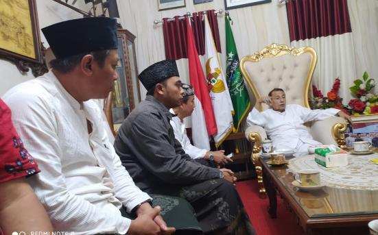 pembahasan tanggal kedatangan Habib Luthfi di UNISNU Jepara dalam acara Seminar Nasional Aswaja dan Radikalisme (26/11/20)