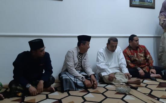 Konsultasi kepada Habib Luthfi bin Yahya terkait kiprah UPT Pusat Studi Aswaja di kampus UNISNU Jepara, Rabu (4/11/20).