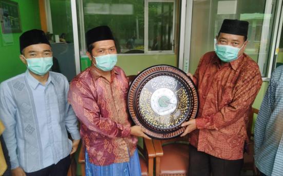 UPT PSA Lakukan Pengumbulan data Penelitian Tipologi Pesantren (Ma'had) Mahasiswa di Pesantren Mahasiswa Sultan Agung (3/3/21)