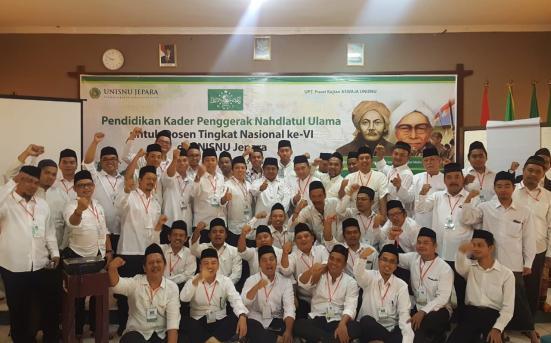 UPT Pusat Studi Aswaja UNISNU Jepara Laksanakan Kegiatan Pendidikan Kader Penggerak Nahdlatul Ulama 2017/2018 (23-25/8/18)
