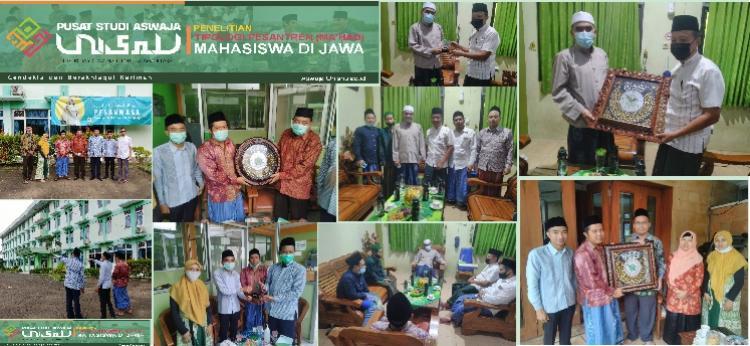 """UPT Pusat Studi Aswaja Unisnu Jepara Lakukan Penelitian """"Tipologi Pesantren (Ma'had) Mahasiswa di Jawa"""""""