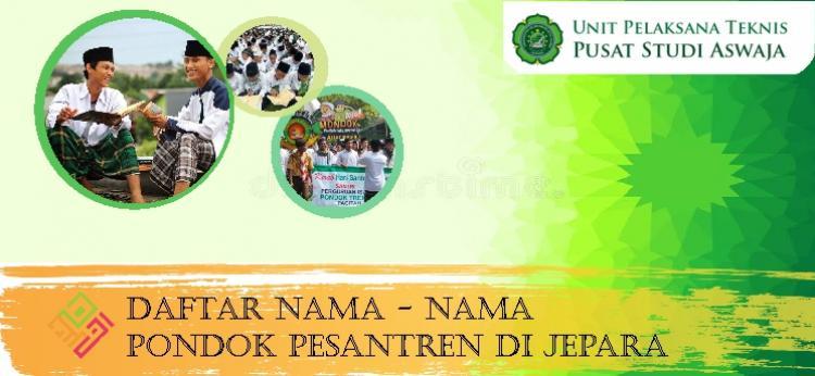 Daftar Pondok Pesantren di Jepara