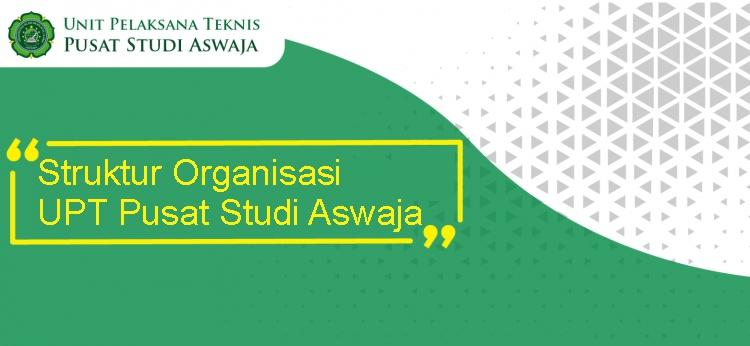 Struktur Organisasi UPT Pusat Studi Aswaja