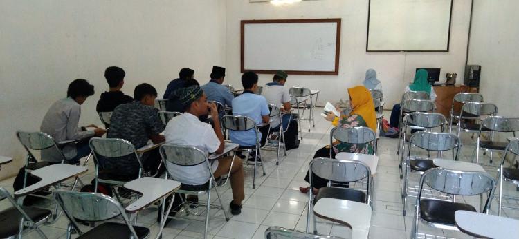 UPT Pusat Studi Aswaja Adakan Program Ta'lim al - Qur'an Bagi Mahasiswa Baru Fakultas SAINTEK UNISNU Jepara TA. 2019/2020